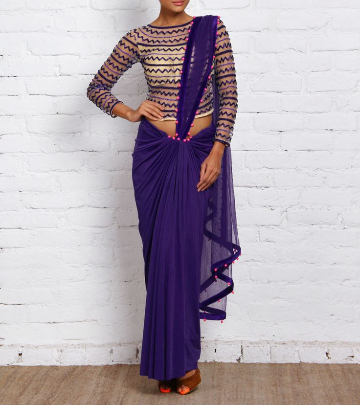 47 Best Ways To Drape Silk Saree Images On Pinterest