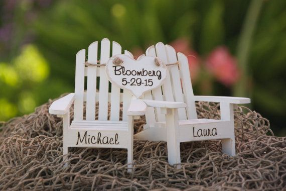 Wedding Cake Topper - Available on Etsy for $50