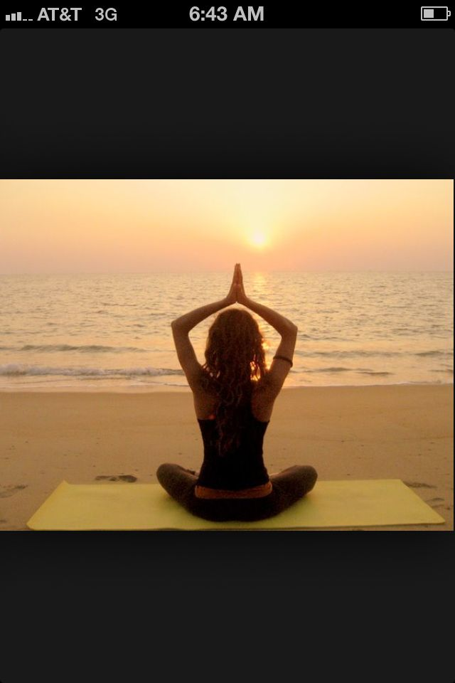 #Finnmatkat beach yoga