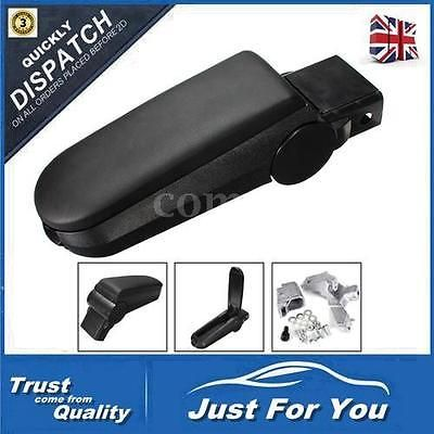 Black leather #console center armrest box for vw golf iv mk4 bora #jetta #98-05 u,  View more on the LINK: http://www.zeppy.io/product/gb/2/151972827051/
