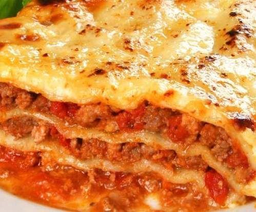 Rezept Lasagne von nady1960 - Rezept der Kategorie Hauptgerichte mit Fleisch