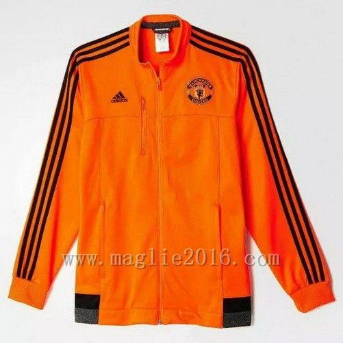 Giacca Arancione Manchester United 2016  €32.9