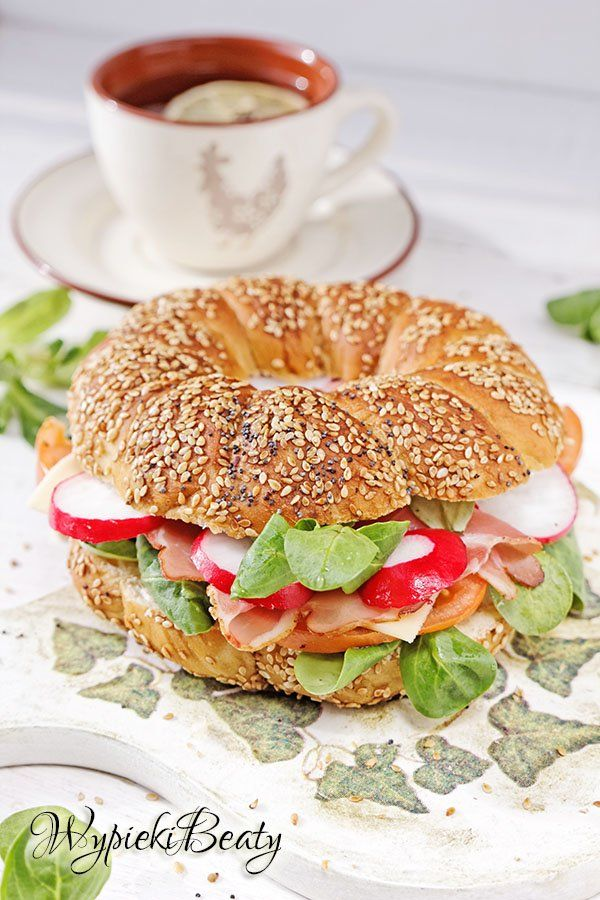 Domowe Bajgle Przepisy Wypieki Beaty Recipe Homemade Dinner Rolls Cooking Healthy Eating