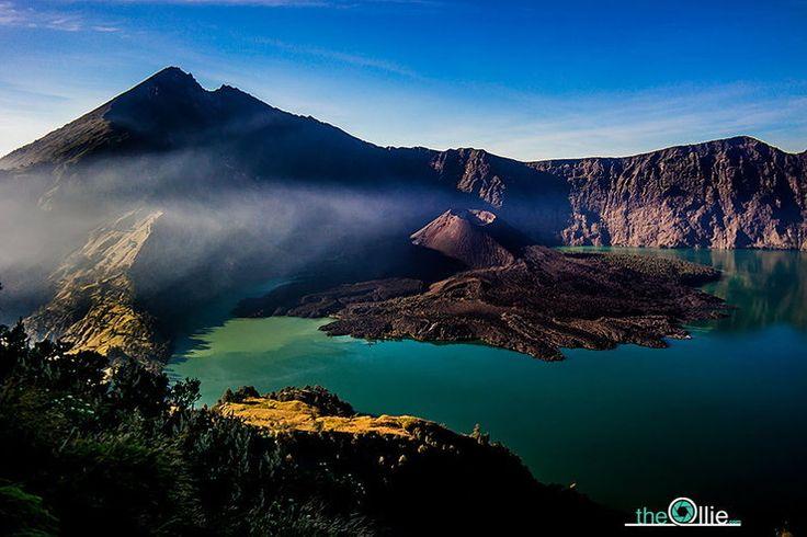 Indonezja - trekking na Gunung Rinjani na wyspie Lombok