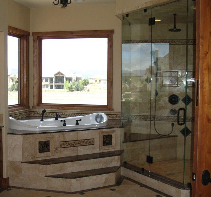 Master Bedroom Jacuzzi Designs 58 best corner tubs images on pinterest | bathroom ideas, bathroom