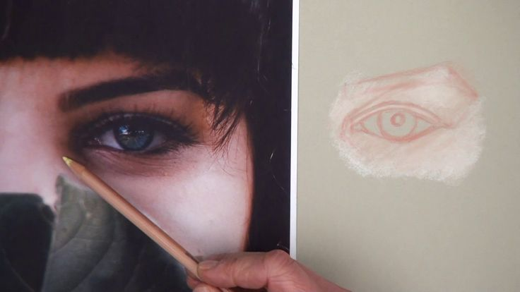 How to draw an eye with pastel pencils. This is one of 10 lessons taken from the Pastel Pencil Portraits course now available on ArtTutor. See here : https:/...