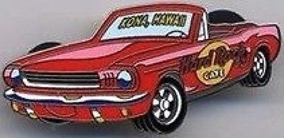 Hard Rock Cafe KONA HAWAII 2002 CAR Series PIN Convertible Mustang - HRC #32884