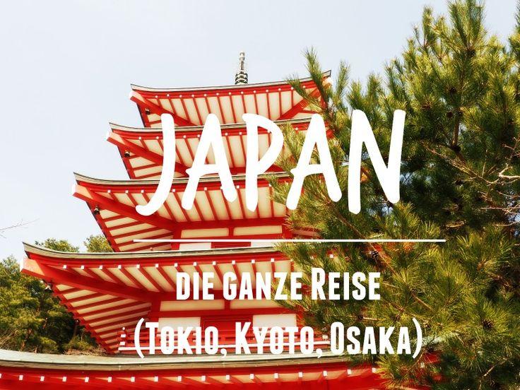 Japan ist ein Land, welches man unbedingt bereisen sollte. Was man gesehen haben sollte? Lest hier alles über die komplette Reise!