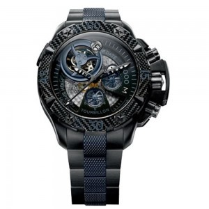 Zenith Men's Defy Xtreme Tourbillon Titanium Chronograph Watch: Mens, Xtreme Tourbillon, 96 0529 4035 51 M Defy, Watches