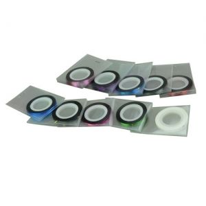 $1.03    Elegant Quality Nail Art Striping Tape Line Sticker Decoration for UV Acrylic Nails 10 pcs