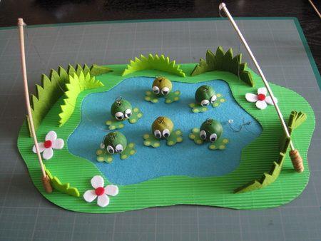 La p che la grenouille jeux fabriquer pinterest - Fabriquer goutte a goutte ...
