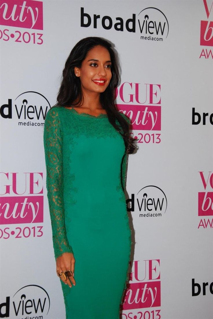 Lisa Hydon at Vogue Awards 2013.