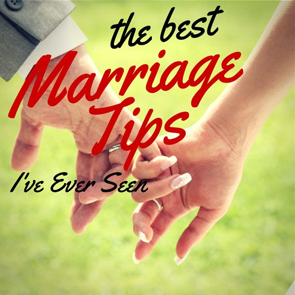 You haven't seen the best marriage tips of all time until you saw my 13 favorite from the best marriage bloggers on the web.