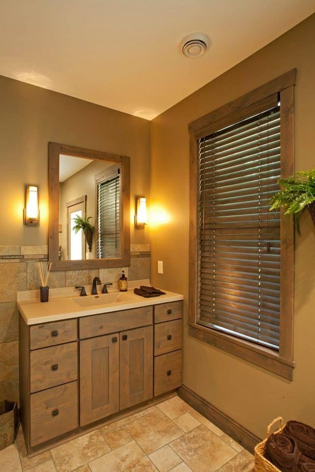 Showplace wood cabinets