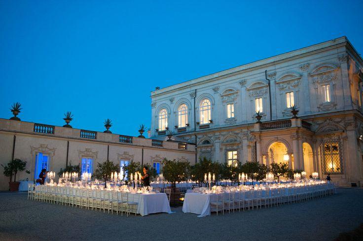 www.italianfelicity.com #weddingreception #longtable