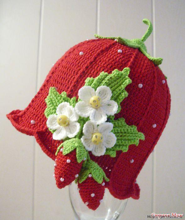 Чудесные шапули для девочек крючком. Обсуждение на LiveInternet - Российский Сервис Онлайн-Дневников