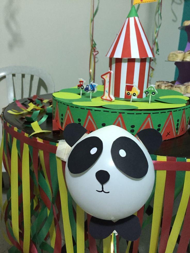 Cumpleaños decoración animales