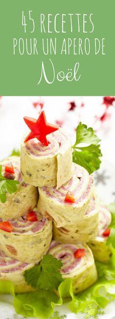 Petits fours, roulés, toasts : 45 idées recettes pour un apéro de Noël !
