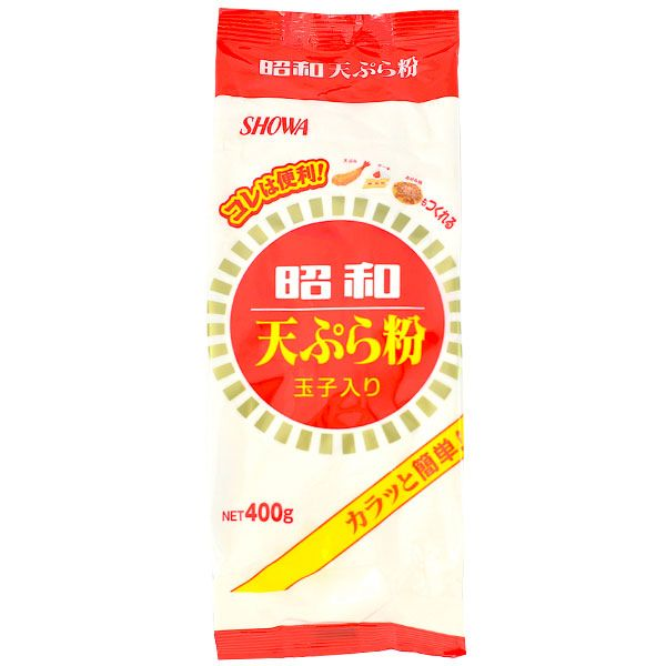 This tempura flour is the secret to creating top quality light, crunchy tempura pieces in a jiffy! Simply coat meat and vegetables in flour then get frying!