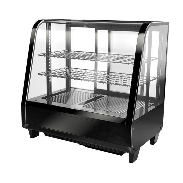Worldchr Vitrine A Dessert 100l Refrigerateur Table Top Frigo Encastrable Et Vitrine