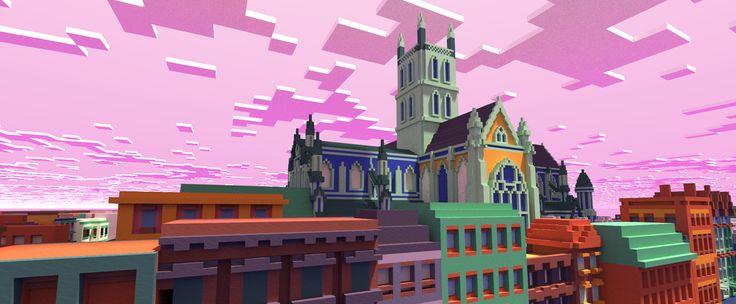 London Tate Galery goes Minecraft: Kunst wird zum Pixel-Computerspiel