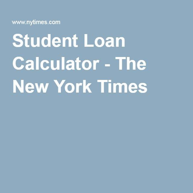 student loan cal