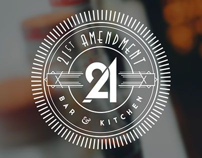 "Check out new work on my @Behance portfolio: ""21st Amendment Bar & Kitchen"" http://be.net/gallery/33346021/21st-Amendment-Bar-Kitchen"