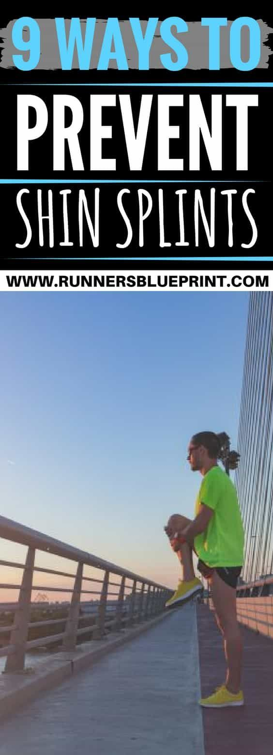 How to Get Rid of Shin Splints Once you're familiar with the main culprits responsible for shin splints, apply some of the following strategies to reduce injury recurrence. http://www.runnersblueprint.com/get-rid-of-shin-splints/ #Shin #splints #prevention