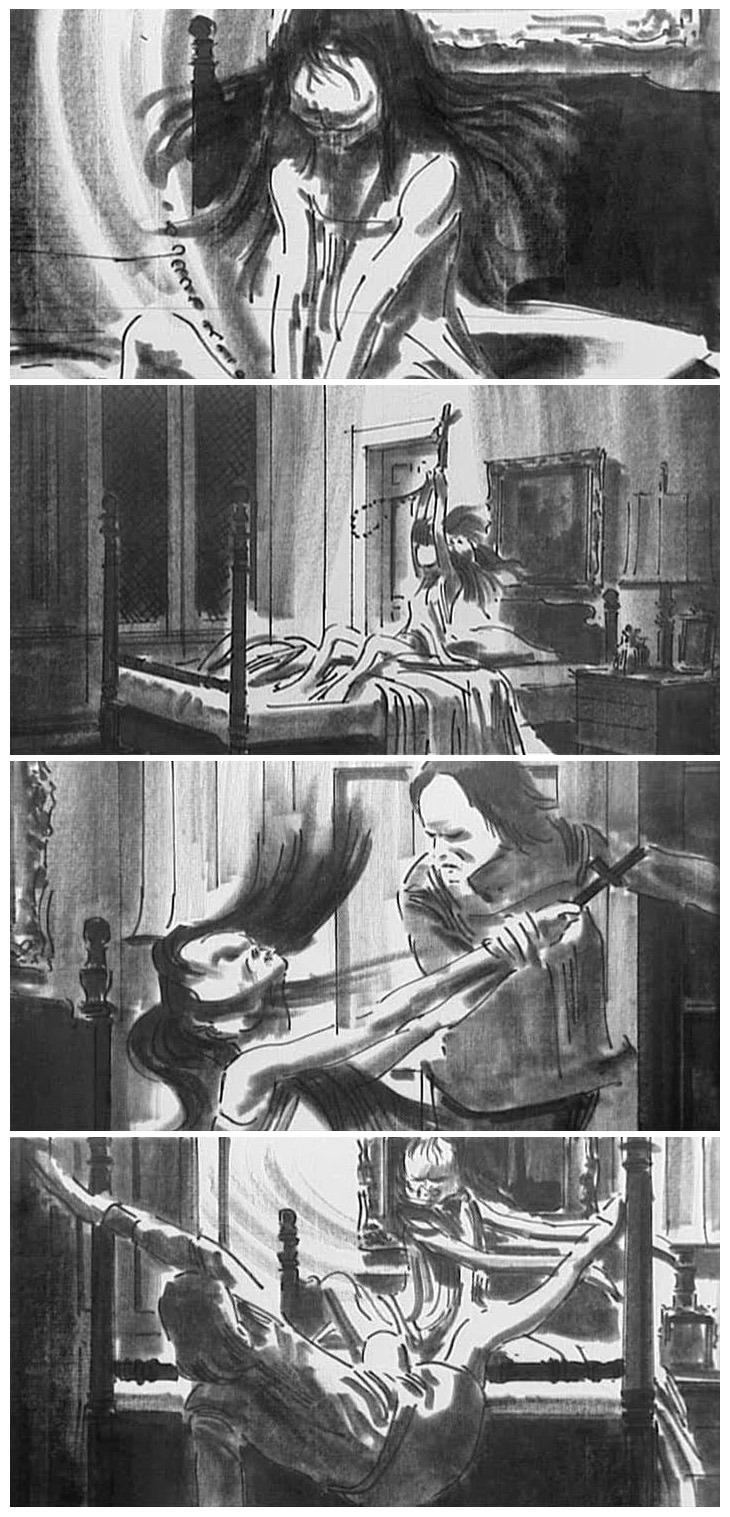 The Exorcist - Storyboards 2