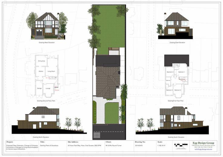 Existing Plans & Elevations
