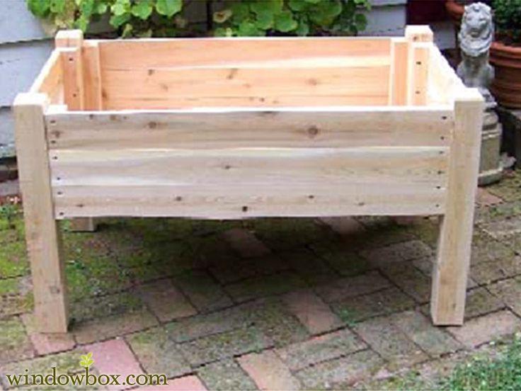 Raised Garden Beds - Cedar Raised Flower Beds & Potting Tables ...