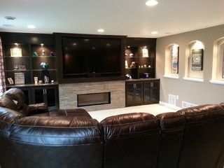 Thomsen Basement - traditional - basement - minneapolis - by Hedlund Building and Remodeling LLC