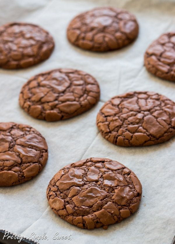 The Fudgiest Chocolate Cookies in The World!