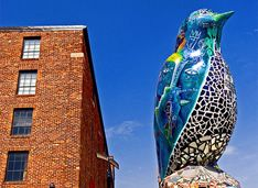 AVAM - American Visionary Art Museum (recommended by funny Westport CT blog guy)
