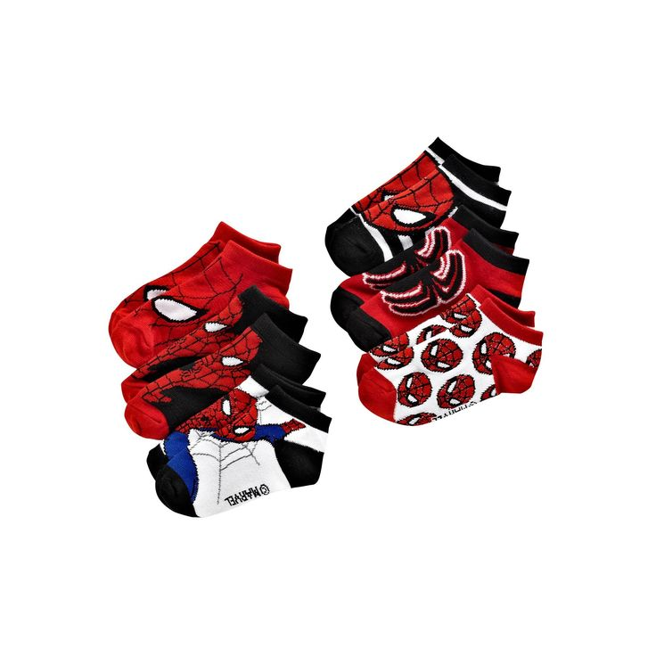 Marvel Ultimate Spider-Man 6-pk. Socks - Toddler, Size: 2T-4T, Blue