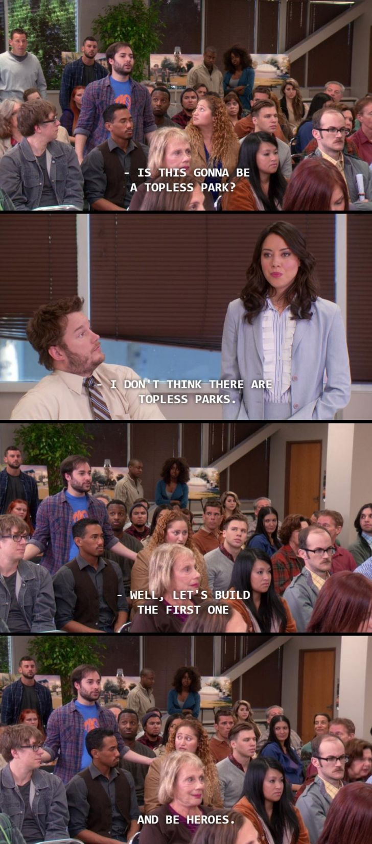 My favorite Harris Wittels moment from Parks and Rec