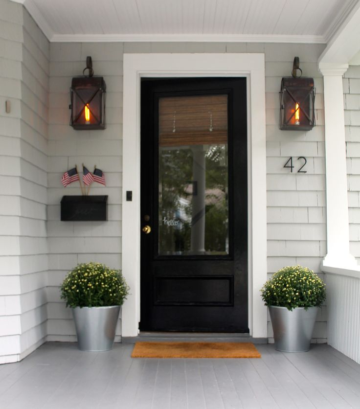 17 Best Ideas About Black Front Doors On Pinterest