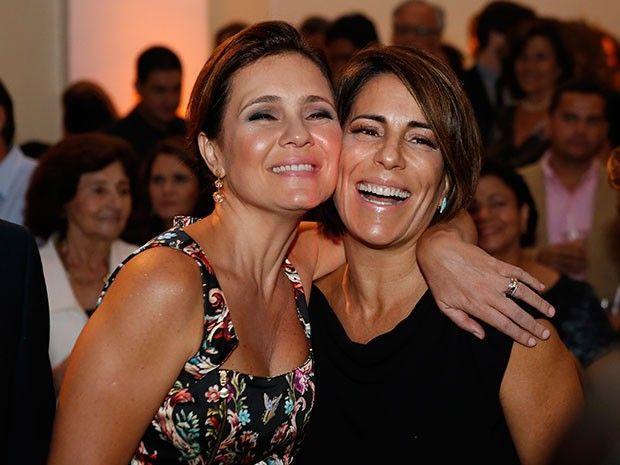 Adriana Esteves e Gloria Pires  (Foto: Fábio Rocha / Gshow)