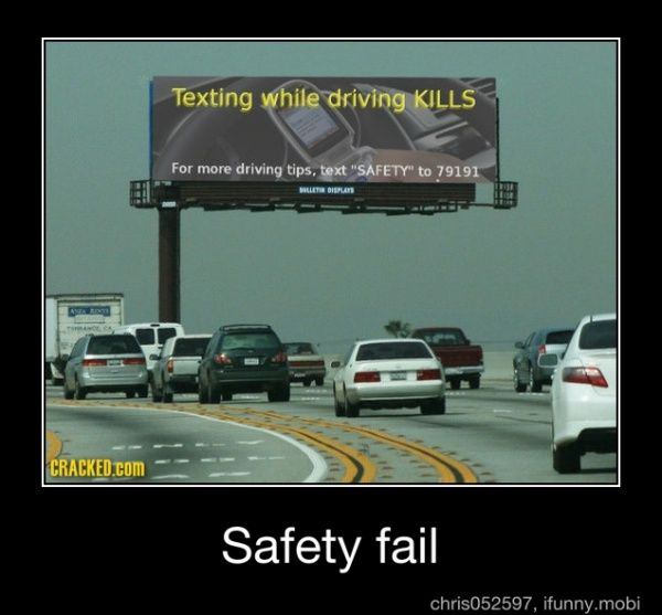 : Funny Image, Epic Fail, Funny Pics, Funny Signs, Funny Pictures, Safety Tips, Funny Stuff, Driving Tips, Funny Fails