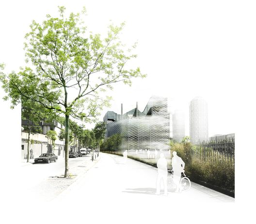 Prothofactory,Rendering by Play-Time, http://www.play-time.es. Image Courtesy of Marta Garcia-Orte + Aaron Tregent