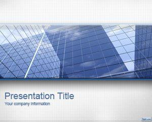 Fondo PowerPoint para negocios gratis con imagen de oficinas pronta para ser utilizada en presentaciones de Microsoft PowerPoint ejecutivas o empresariales #powerpoint #plantillas #gratis