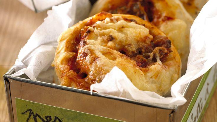 Pizzasnurrer - lages hjemme, og pakkes i sekken. God tur!