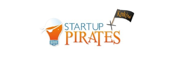 Oficjalne logo Startup Pirates #event #cracow