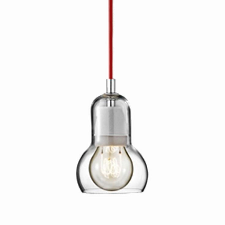 Bulb SR1, röd i gruppen Belysning / Taklampor hos RUM21 AB (112639)