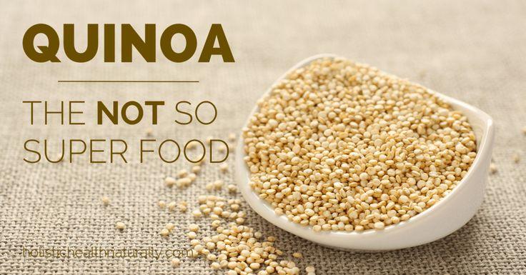 Mis razones para no consumir quinoa