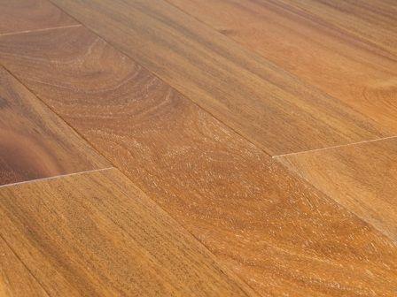 "FloorUS.com - 3/4""x3-1/2"" Solid Exotic Hardwood Brazilian Teak(Cumaru) Floor Natural"