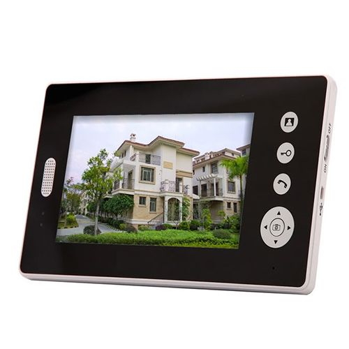 2.4GHz Digital Wireless Video Door Phone with 7 Inch TFT Screen
