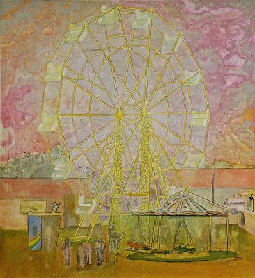 Peter Doig - Rainbow Wheel 1999