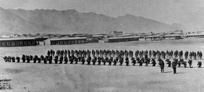 Batallón Cívico de Artillería Naval en Antofagasta año 1879
