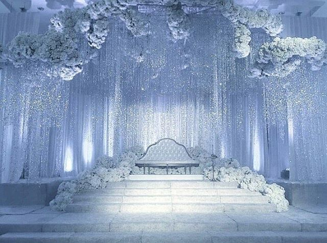 We can't help but fall head over heels with this awe-inspiring silver affair by @glamweddings! If you're planning to have a whimsical wedding, then this inspiration is just for you! We're swooning over its grandeur hanging string strands, white blooms and the play of light that builds such a wintry ambiance. Dreamy and one of a kind, who adores this too? Double tap and tag a friend who would love this!